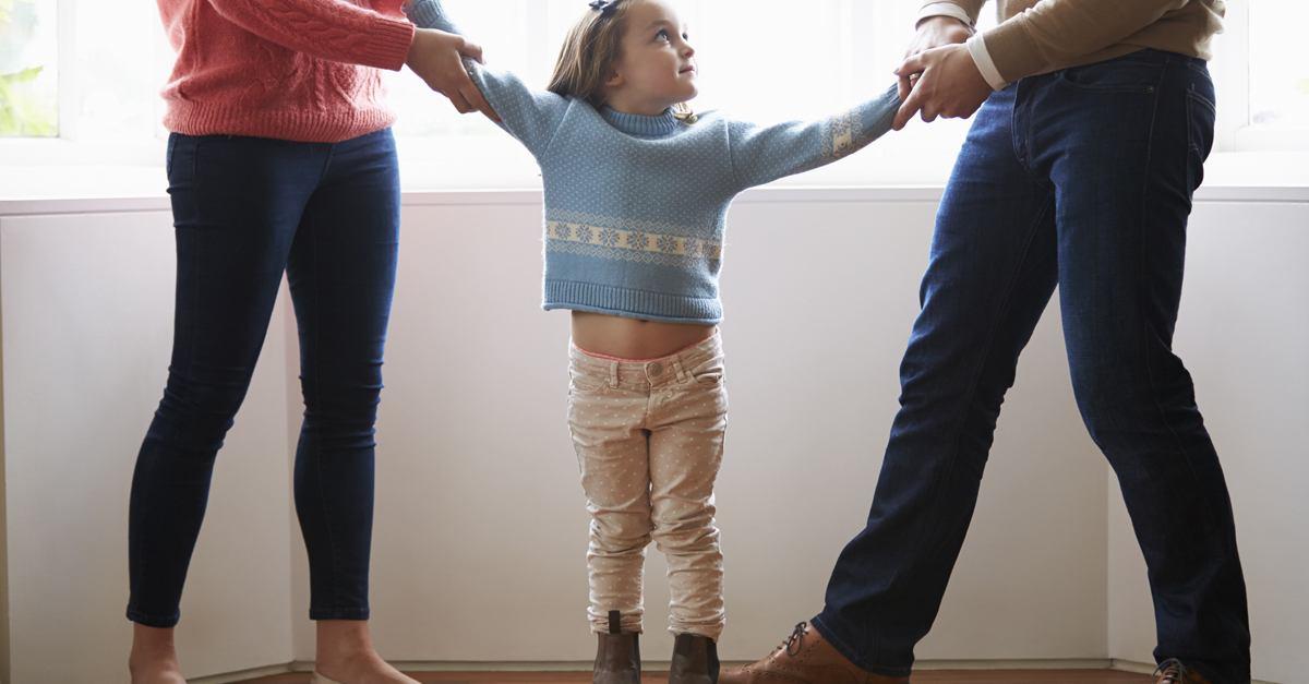 Guarda y custodia compartida de los hijos en los divorcios