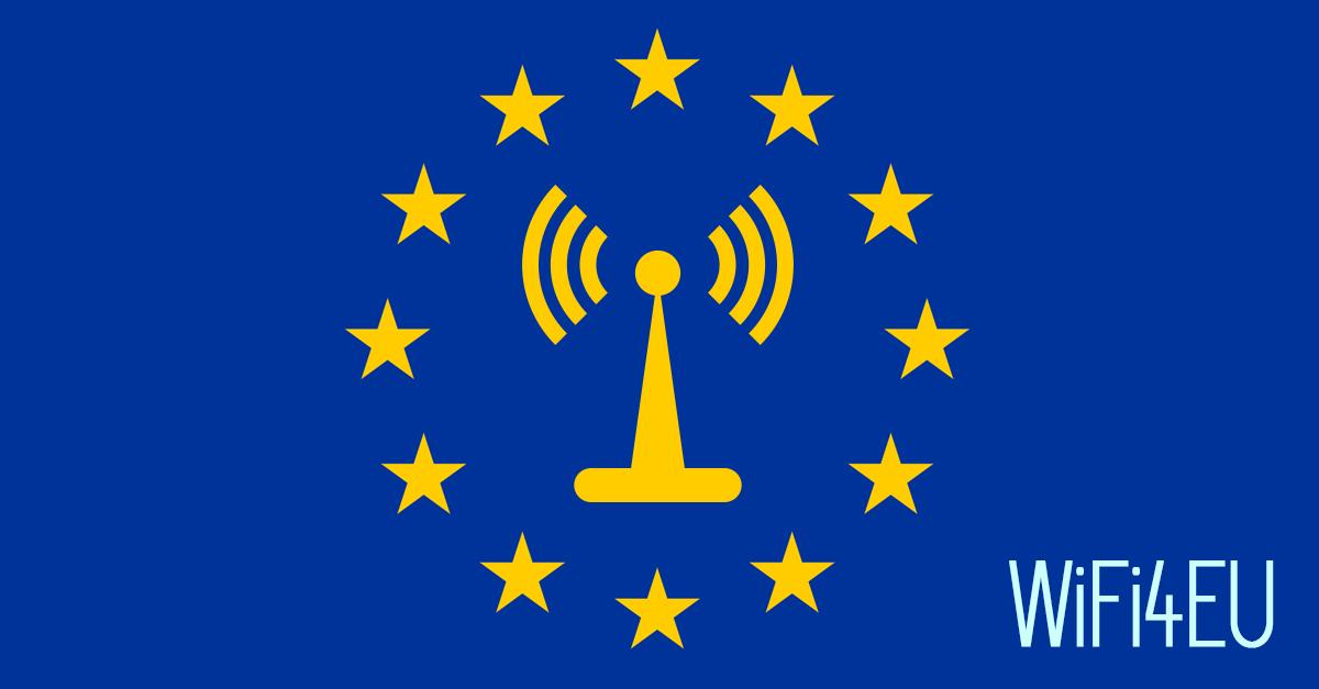 Wifi gratuito en espacios públicos de entidades locales