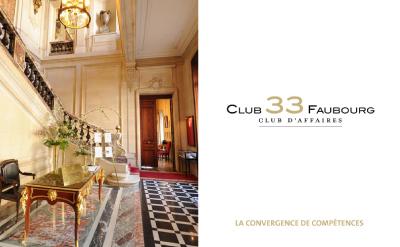 Reunión del grupo 33 Faubourg en París