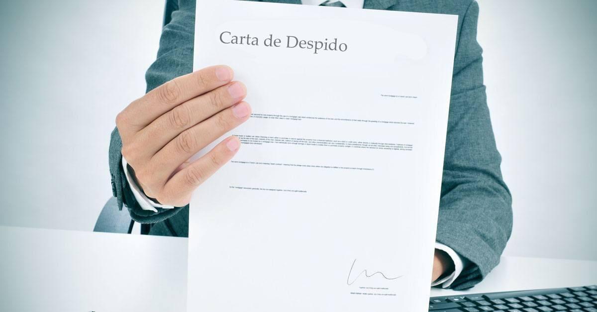 La importancia de una buena carta de despido
