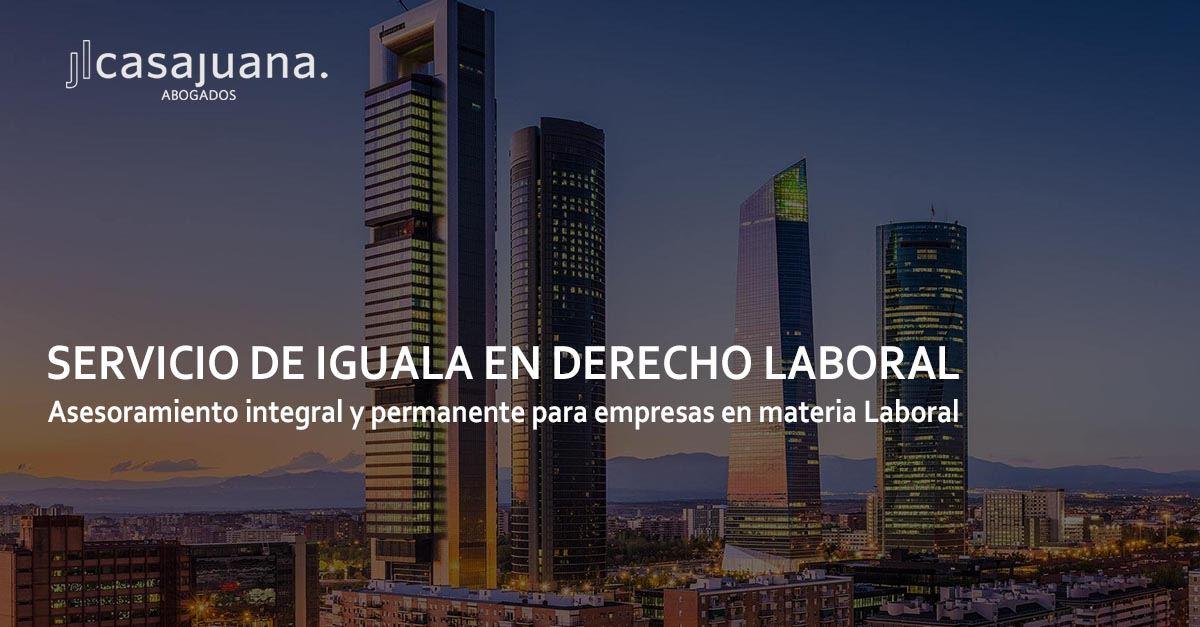 Servicio de iguala en Derecho Laboral