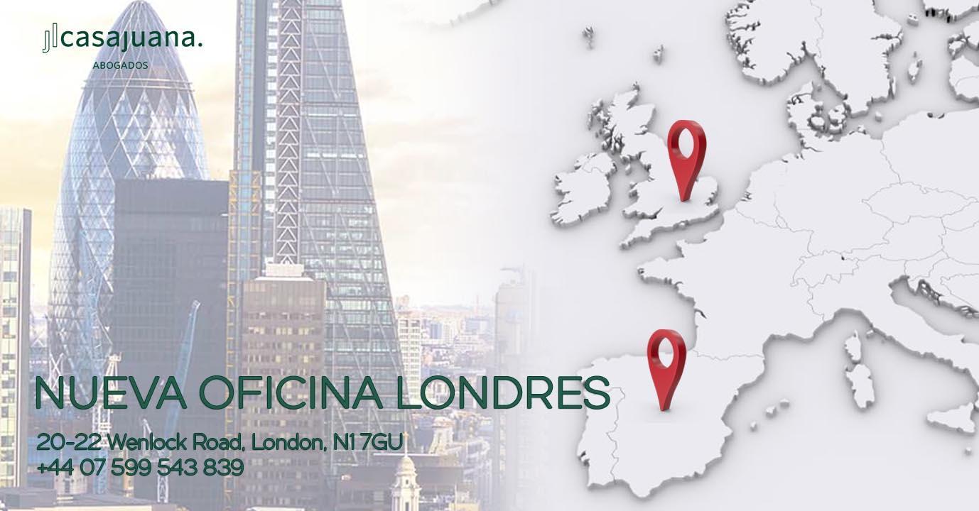 Apertura oficina en Londres - JL Casajuana