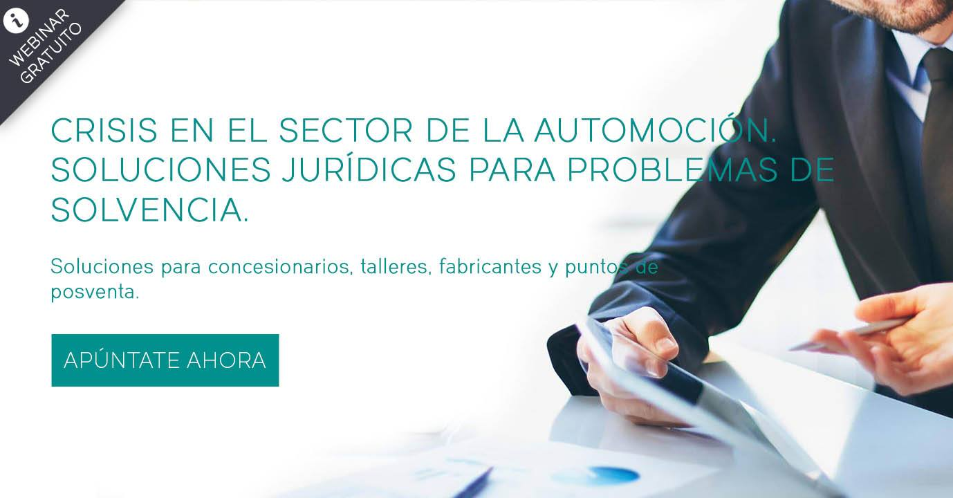 Webinar Gratuito para empresas del sector de la automoción