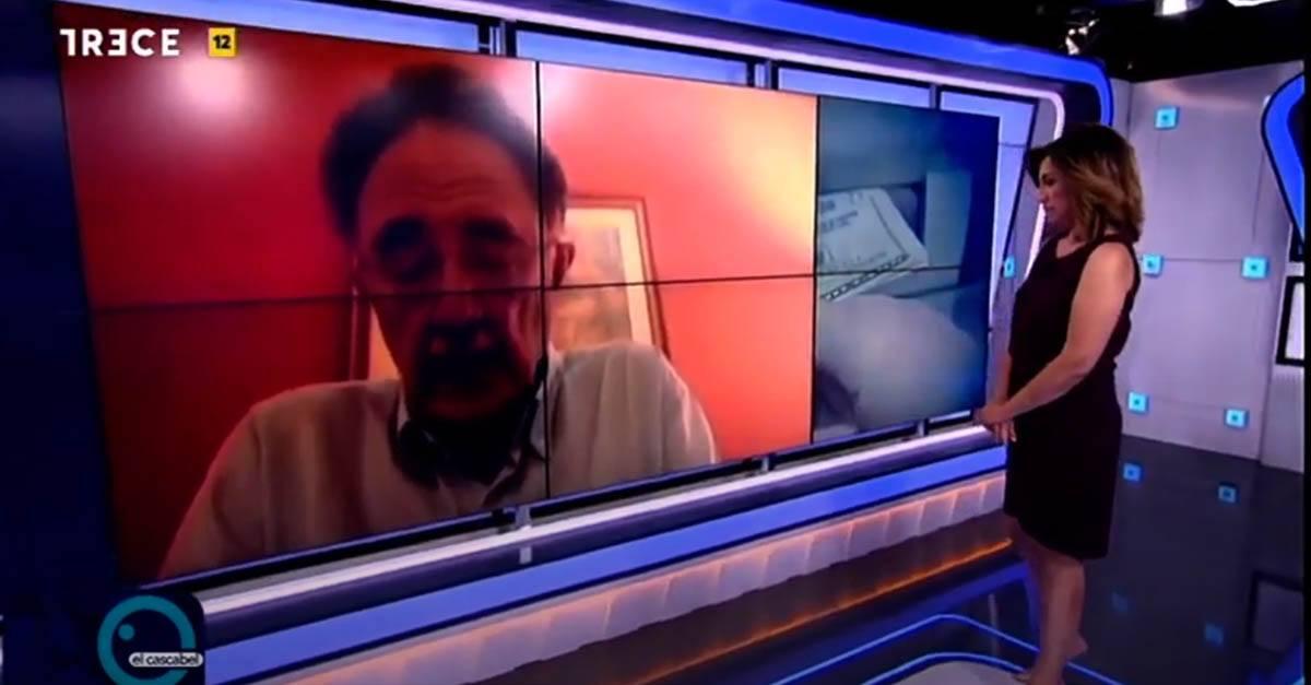 Intervención de Antonio Cebrián Carrillo en el programa El Cascabel de 13 Tv